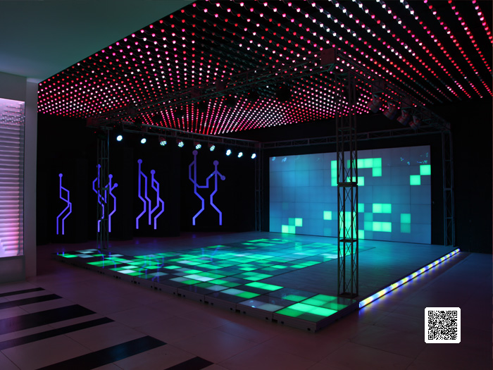 □ Exhibition Hall - WATERPROOF HIGH Power DMX LED WALL